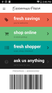Everything Fresh Mobile - náhled