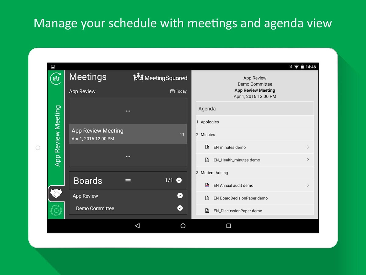 MeetingSquared: Meetings Tool- screenshot