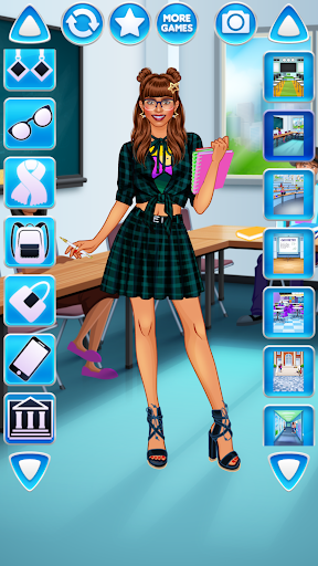 College Student Girl Dress Up for PC
