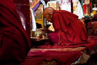 Photo: Puja at Spituk Monastary, Leh, Ladakh, Indian Himalyas