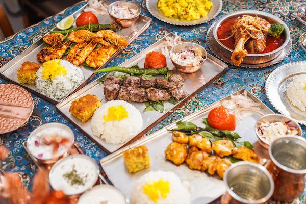 肚皮舞餐廳 1001 Nights Kitchen (一千零一夜廚房)  台北主題餐廳、水煙餐廰、正統中東料理、穆斯林回教可食用的清真認證牛羊肉