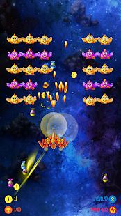 Strike Galaxy Chicken Attack Screenshot