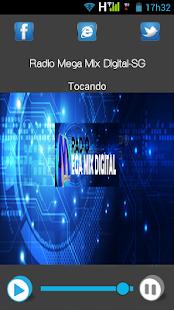 Rádio Mega Mix Digital - náhled