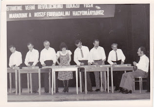 Photo: Sztahó Lajos, Szabó Lajos, Nagy Károly, Szabó Julianna, Kolocsics Károly, Szabó János-Öcsi, idős Liska Károly, Szoboszlai Vince
