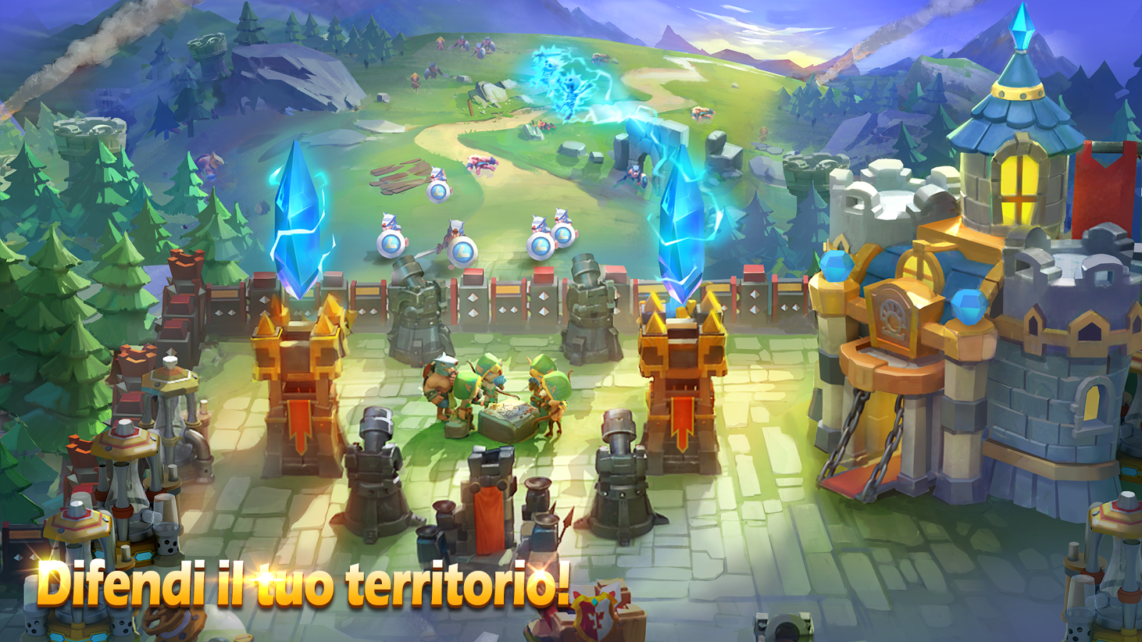 Screenshots of Castle Clash: Squadre Valorose for iPhone
