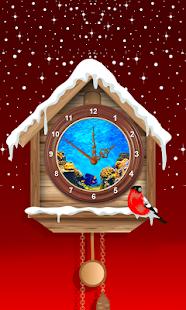 Clock Aquarium Live Wallpaper - náhled
