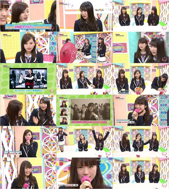 (TV-Variety)(480P) NMB48 Kawaiian TV – Collection 160118 ~ 160123