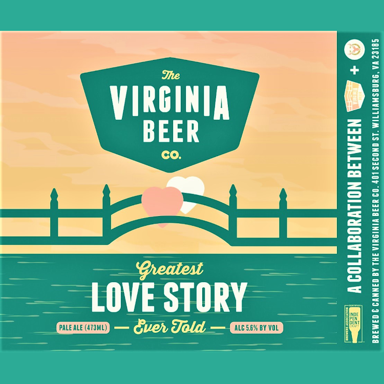 Logo of Virginia Beer Co. Greatest Love Story Ever Told
