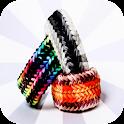 Rainbow loom ideas designs icon