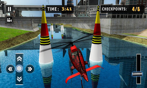 Flying Helicopter Simulator 2019: Heli Racer 3D  screenshots 5