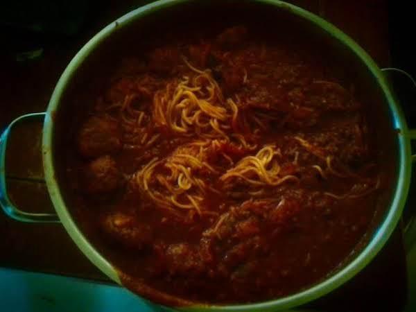 Homemade Meatballs And Spaghetti Recipe