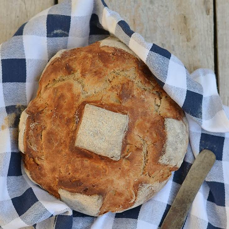 Stilton, Honey and Walnut Bread Recipe