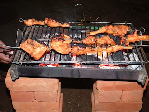 Photo: Amazingly tasty barbecued chicken