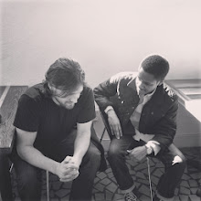 Photo: Ryan with Robert Isaac Brown in NOLA