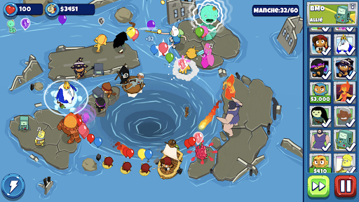 Bloons Adventure Time TD  captures d'écran 2