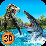 Megalodon vs Dino: Sea Monsters Battle Icon