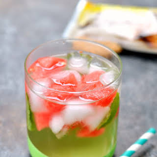 Watermelon Mint Infused Water and Support for Others.
