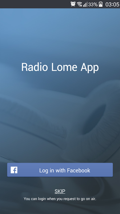 Radio Lomé App- screenshot