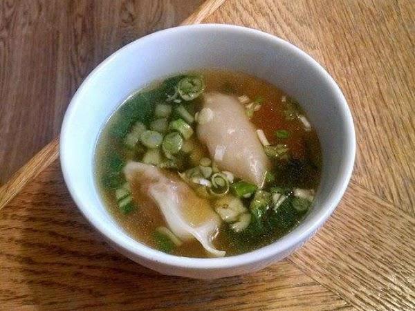 Pork Wonton Soup Recipe