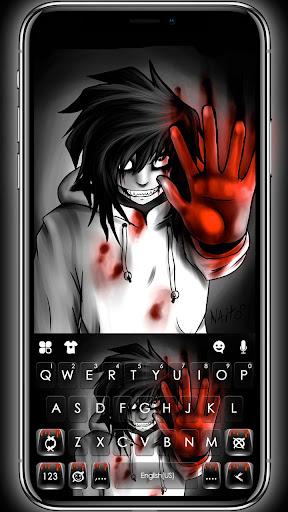 Creepy Killer Jeff Keyboard Theme 1.0 1