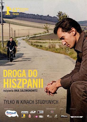 Przód ulotki filmu 'Droga Do Hiszpanii'