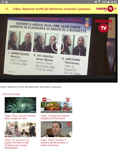 Romagna Web TV- miniatura screenshot