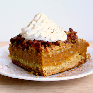 Pumpkin Pie Cake With Yellow Cake Mix Recipes.