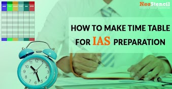 How to make time table for UPSC preparation?
