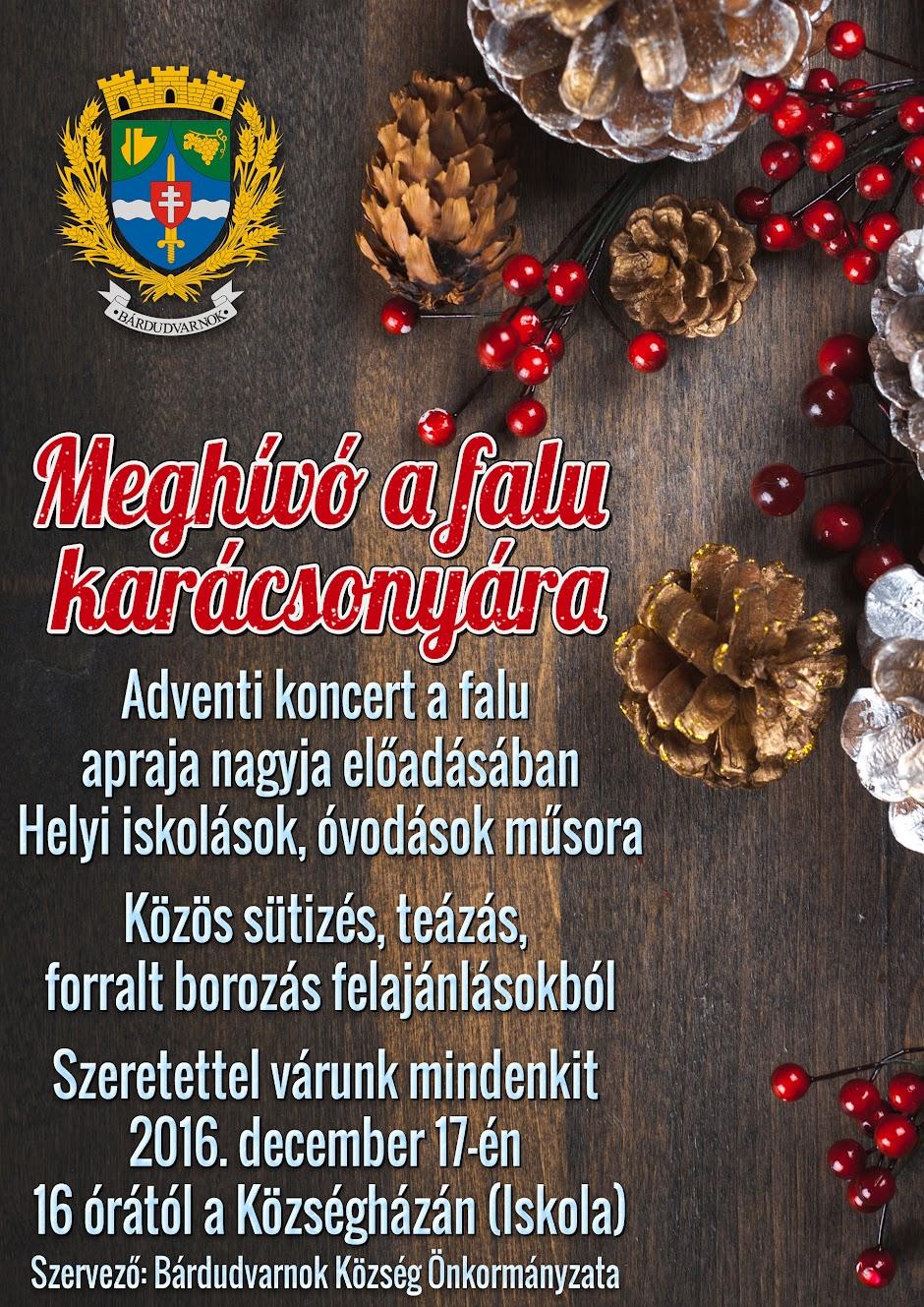Falu Karácsonya 2016