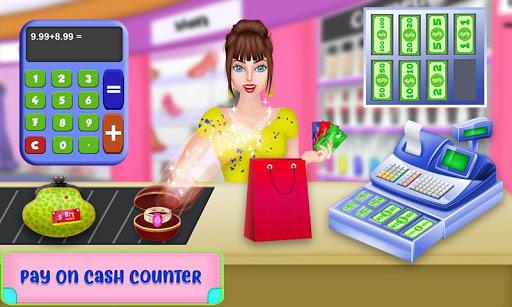 Shopping Mall For Rich Girls: Supermarket Cashier  screenshots 4