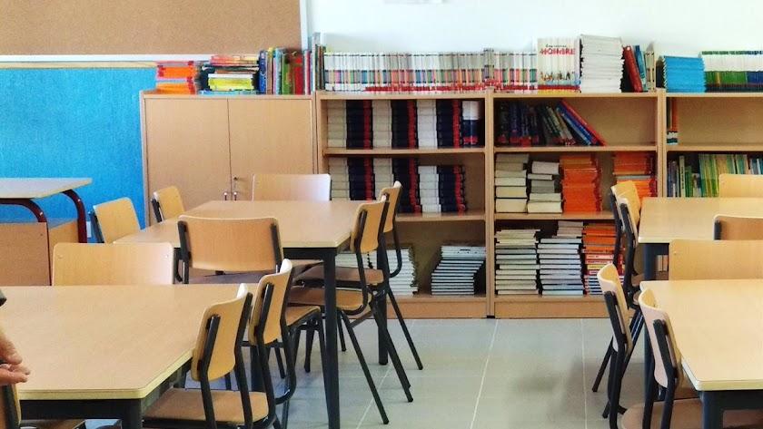 Almería tiene el 1% de sus aulas cerradas por covid.