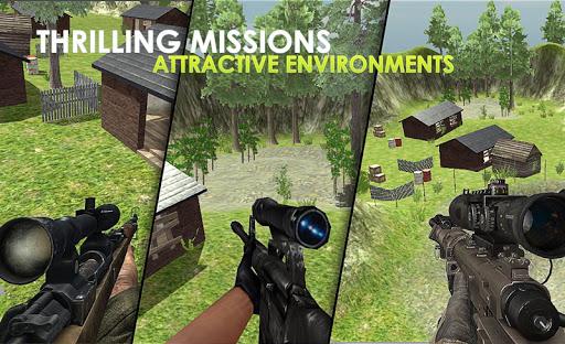 Sniper Shooter FPS Bravo Contract Killer 1.5 Mod screenshots 3