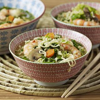 Thai Shrimp Noodle Soup.