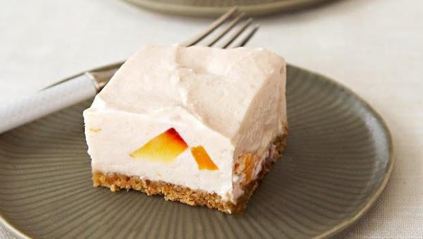 No-bake Peaches And Cream Cheesecake Recipe