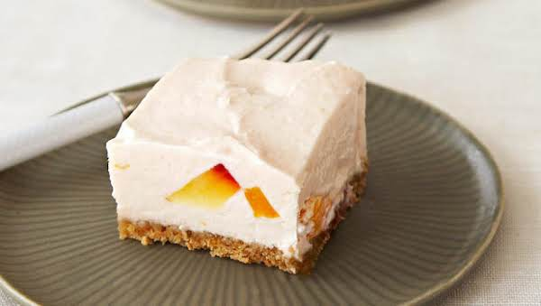 No-bake Peaches And Cream Cheesecake Recipe