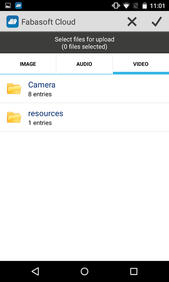Fabasoft Cloud- screenshot