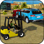 Excavator Car Transport Forklift Simulator