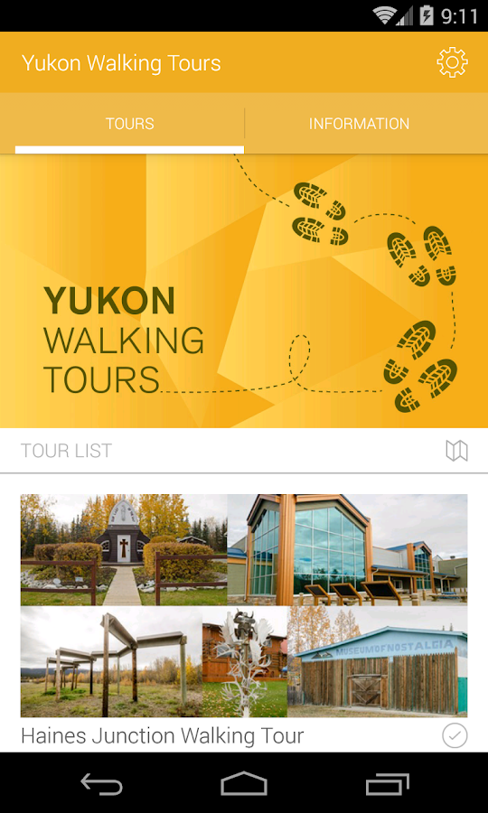 Yukon Walking Tours- screenshot