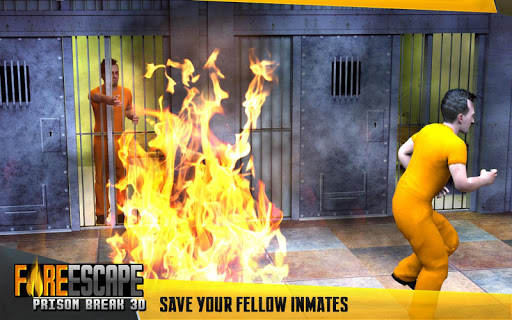 Fire Escape Prison Break 3D  captures d'u00e9cran 2