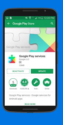 Play Services Repair 1.0.3 screenshots 2