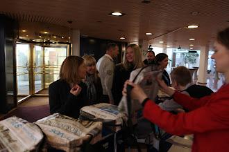 Photo: Arrivals, arrivals...