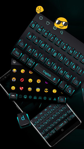 Black Blue Light Keyboard 10001007 screenshots 1