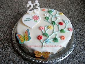 Photo: Torták - Tavaszi szülinapi torta