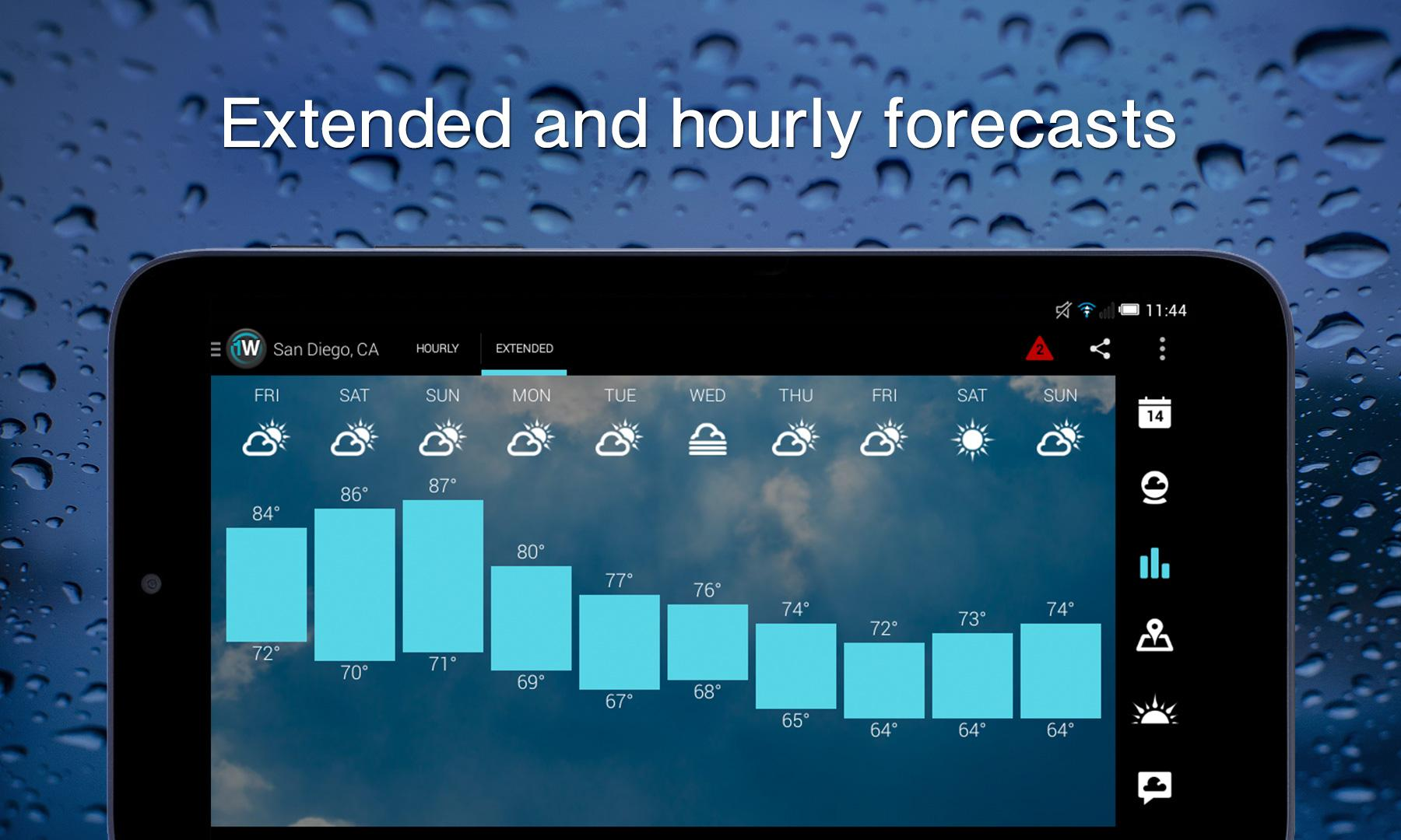 1Weather:Widget Forecast Radar screenshot #12