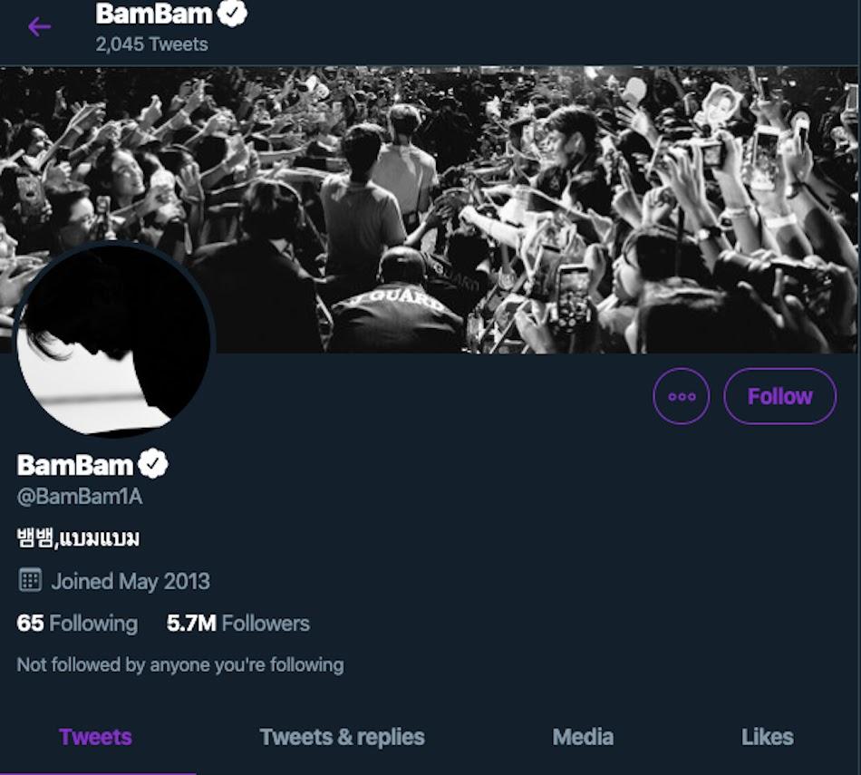 bam twitter