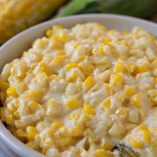 Slow Cooker Creamed Fresh Corn