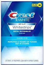 Crest 3D White Classic Vivid Dental Whitening Kit - 10 Treatments