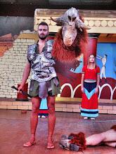 Photo: Критский вечер. Тезей убивает Митотавра