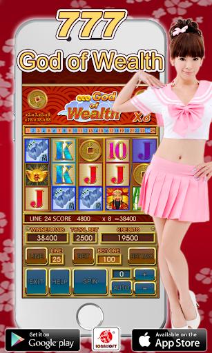 777 God Of Wealth Slot Machine 1.4 screenshots 1