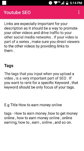 Basic Guide For Youtube Channels 5.0 screenshots 2